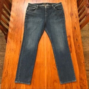 Lucky Brand Hi Rise Emma Straight Size 16W